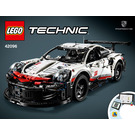 LEGO Porsche 911 RSR Set 42096 Instructions