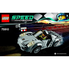 LEGO Porsche 918 Spyder Set 75910 Instructions