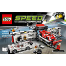 LEGO Porsche 919 Hybrid and 917K Pit Lane Set 75876 Instructions