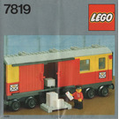 LEGO Postal Container Wagon Set 7819