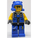 LEGO Power Miner with Orange Scar Minifigure