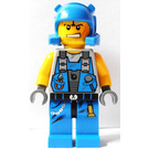 LEGO Power Miners Rex Minifigure