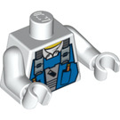 LEGO Power Miners Torso with Blue Overall Bib (76382)