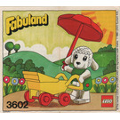 LEGO Pram - Lisa Lamb Goes Walking Set 3602 Instructions