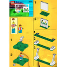 LEGO Precision Shooting Set 3414 Instructions
