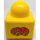 LEGO Primo Brick 1 x 1 with Car (31000)
