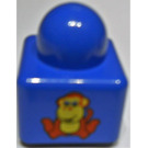 LEGO Primo Brick 1 x 1 with Lion / Monkey (31000)