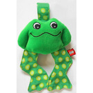 LEGO Primo hanging Frog (cloth rattle)