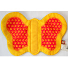 LEGO Primo Large Butterfly Wings (cloth) with red/yellow on one side and green with white dots on other side