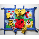 LEGO Primo Playmat with elephant hand puppet and 2 finger puppets (elephant and cat)