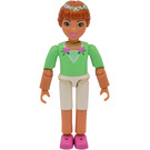 LEGO Princess Flora with White Shorts & Medium Green Top with Roses Decoration Minifigure