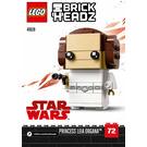 LEGO Princess Leia Organa Set 41628 Instructions