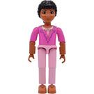 LEGO Princess Paprika with Dark Pink Top and Pink Pants Minifigure