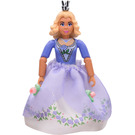LEGO Princess Rosaline with Medium Violet Top with Rose Pattern and White Shorts Minifigure