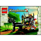 LEGO Prison Carriage Rescue Set 7949 Instructions