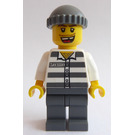 LEGO Prisoner 50380 with Missing Tooth and Knitted Cap Minifigure