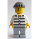 LEGO Prisoner 50380 with Standard Grin and Knitted Cap Minifigure