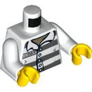 LEGO Prisoner 86753 Minifig Torso (973 / 76382)