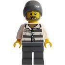 LEGO Prisoner 86753 with Beard and Beanie Minifigure