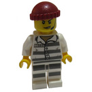 LEGO Prisoner 86753 with Headset and Knitted Cap Minifigure