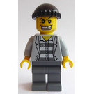 LEGO Prisoner, Gold Tooth Minifigure