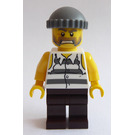 LEGO Prisoner with Ripped-Off Sleeves Minifigure