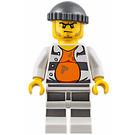 LEGO Prisoner with Stained Orange Undershirt Minifigure