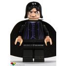 LEGO Professor Severus Snape with Light Flesh Head and Black Cape Minifigure