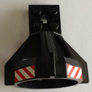 LEGO Propeller Housing with Sticker from Sets 1782, 6557, 6560, 6599 (6040)