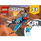 LEGO Propeller Plane Set 31099 Instructions