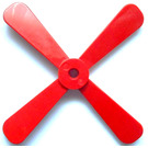 LEGO Propellor 4 Blade 13 Diameter without Studs (4751)