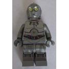 LEGO Protocol droid - flat silver Minifigure