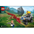 LEGO Pteranodon Chase Set 75926 Instructions