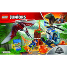 LEGO Pteranodon Escape Set 10756 Instructions