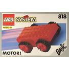 LEGO Pull-Back Motor, Red Set 818