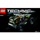 LEGO Quad Bike Set 42034 Instructions