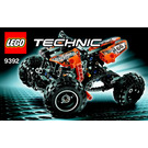 LEGO Quad Bike Set 9392 Instructions
