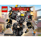 LEGO Quake Mech Set 70632 Instructions