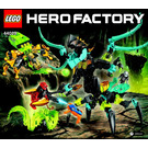 LEGO QUEEN Beast vs. FURNO, EVO & STORMER Set 44029 Instructions