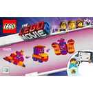 LEGO Queen Watevra's Build Whatever Box! Set 70825 Instructions