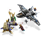 LEGO Quinjet Aerial Battle Set 6869