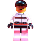 LEGO R.E.S. Q Man  with Black Cap and Headset Minifigure