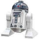 LEGO R2-D2 Figurine (Flat Silver Head, Dark Blue Printing, Red Dots)