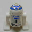 LEGO R2-D2 Minifigure with White Head