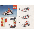 LEGO Race Car Number 1 Set 1899 Instructions