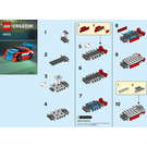 LEGO Race Car Set 30572 Instructions