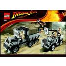 LEGO Race for the Stolen Treasure Set 7622 Instructions