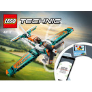 LEGO Race Plane Set 42117 Instructions
