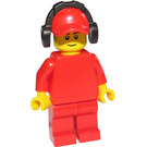 LEGO Race worker Minifigure