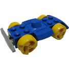 LEGO Racer Chassis with Yellow Wheels